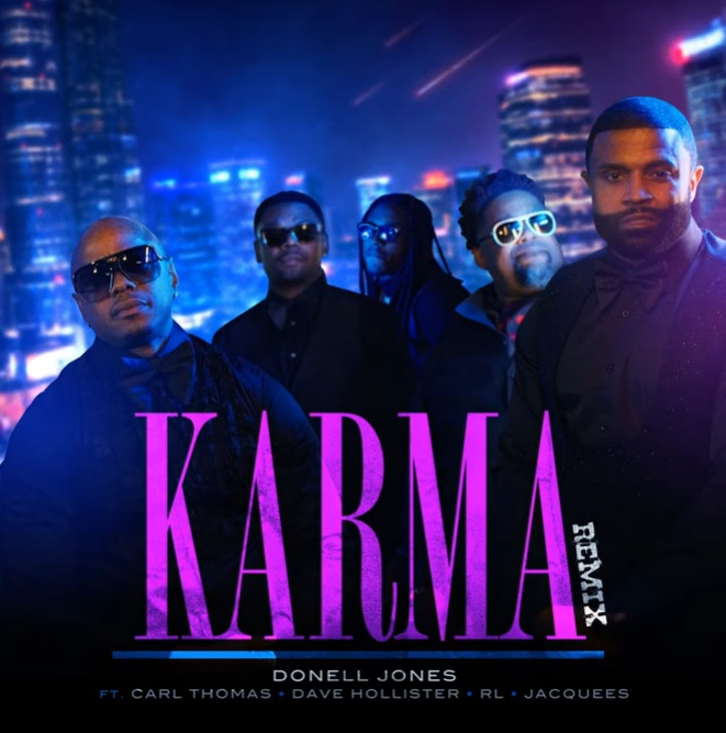 """Donell Jones Shares """"Karma"""" Remix With Carl Thomas, Dave Hollister, RL & Jacquees"""
